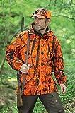 Drückjagd Überzieh-Jacke camouflage Siganlorange S/M