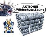 50m BEST4FORST Wildzaun Forstzaun Weidezaun Drahtzaun Knotengeflecht 100/10/15