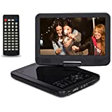 10.5 Inch Portable DVD Player With 270 Swivel Screen