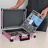 Allit Aluminium Koffer Basic L35 Pink