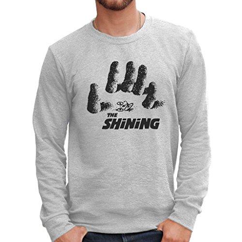Sweatshirt The Shining Hand - Musik By Mush Dress Your Style - Herren-M Grau