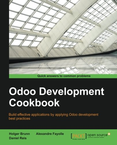 Odoo Development Cookbook por Daniel Eufémio Gago Reis