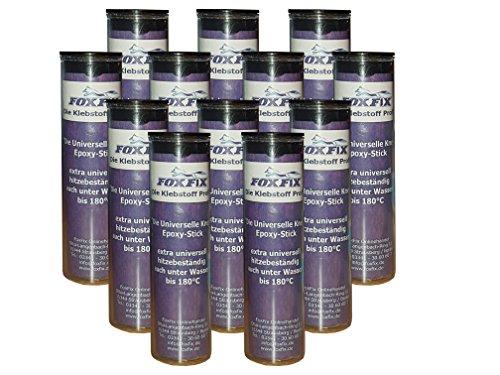 12er-pack-foxfix-56g-epoxy-kit-epoxy-stick-universal-reparaturmasse-extra-stark-reparaturkitt-2-komp