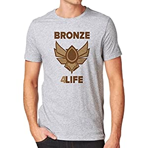 Gamer Quote Bronze 4 Life Funny Shirt Custom Made T-Shirt
