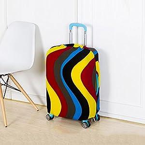 ANYIKE Travel Valise Trolley Coque de Protection, Housse, Mode élastique Bagages de Stockage de Couvertures, étanche à la poussière écran Compatible avec 18à 66cm