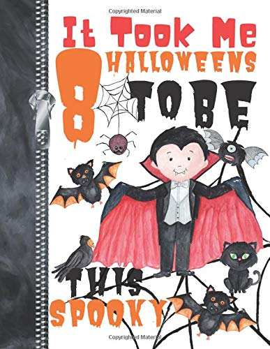 ens To Be This Spooky: Scary Halloween Trick Or Trick Flying Vampire Doodling & Drawing Art Book Sketchbook Journal For Boys ()