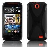 HTC Desire 310 Silikonhülle in SCHWARZ von Cadorabo -