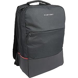 FORVERT New Lance Unisex Backpack markanter Backpack,Rucksack mit 15 Zoll gepolstertes Laptopfach,verstärkter Boden,spannenden Materialmix