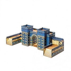 CLEVER PAPER- Puzzles 3D Puerta de Ishtar, Babilonia (14257)