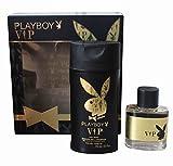 Playboy VIP duftende Set für Herren: 250ml Body Lotion und 30ml Eau de Toilette Spray
