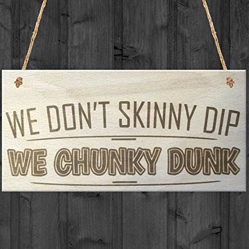 Novelty Wooden Hanging Plaque Ho...
