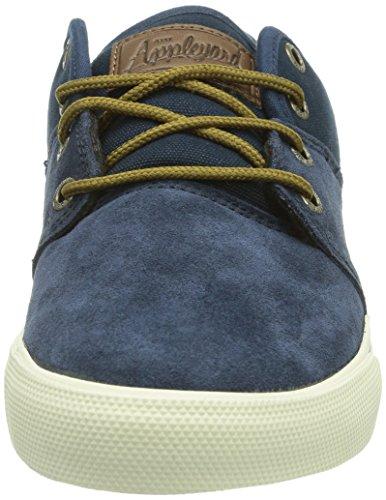 Globe Mahalo, Chaussures de skateboard homme Bleu (13180 Navy/Plaid)