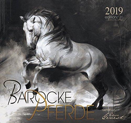Barocke Pferde 2019: Gemalt von Elise Genest