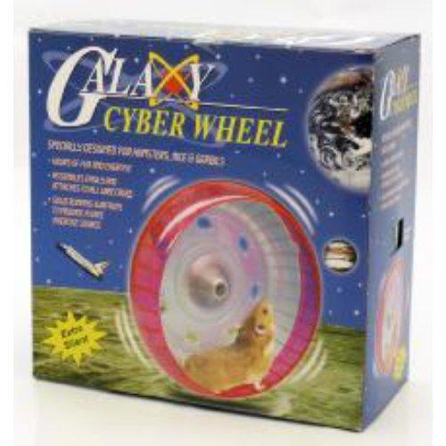 Galaxy Cyber Hamster Deluxe Comfort Hamster Wheel (16cm)
