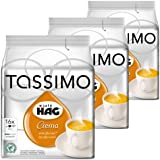 Tassimo Caf? HAG Crema Decaffeinated, Rainforest Alliance Certified, Pack of 3, 3 x 16 T-Discs