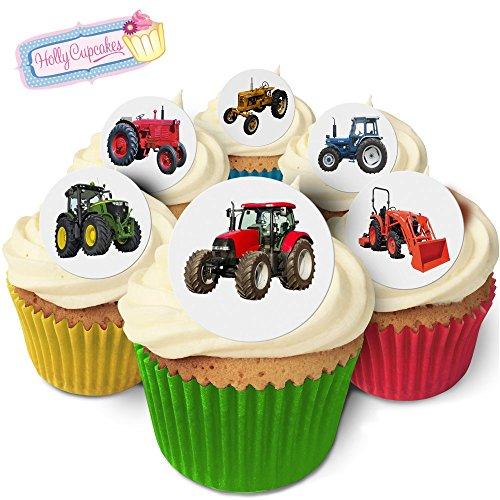 24 Wunderschöne essbare Kuchendekorationen: Traktoren / Tractors