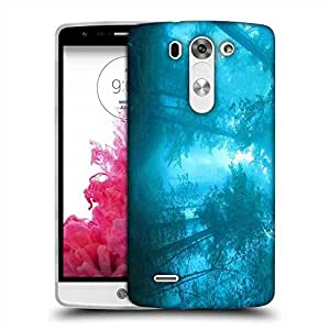 Snoogg Blue Forest Designer Protective Phone Back Case Cover For LG G3 BEAT STYLUS