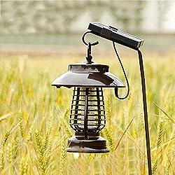 Luz Solar Para Mosquitos Luz Exterior Impermeable Para El Jardín Casero Luz Eléctrica Para Mosquitos Luz Interior Para Jardines Césped Luz (Color : C)