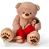 AK Toys Love Teddy Bear for Girls Panda Teddy Bears tady Bears Toys Big Size Latest (Brown, 2.5 Feet)
