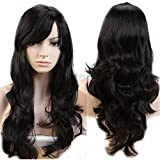 Pema Hair Extensions And Wigs D-DIVINE Full Head Long Wavy Hair Wig