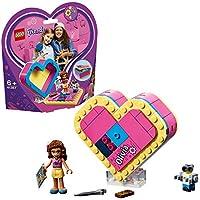 LEGO- Friends Scatola del Cuore di Olivia, Colore Vari, 41357