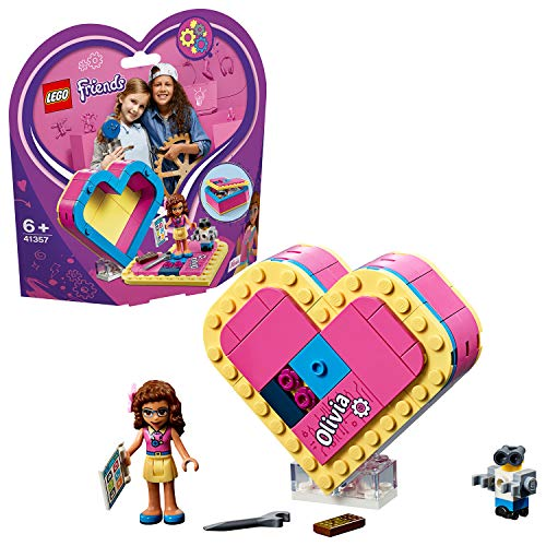 Herz Roboter Kostüm - Lego 41357 Friends Olivias Herzbox, bunt