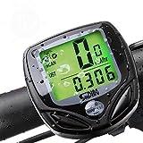 Fahrradcomputer Drahtloser Speedometer WasserdichterTacho/Kilometerzähler mit wasserdicht digital LCD Display Multi-Funktion