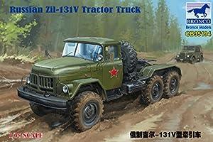 Unbekannt Bronco Models cb35194Maqueta de Russian zil-131131V Tractor Truck