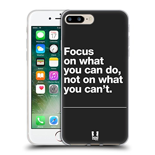 Head Case Designs Urbano Camou Digitale Cover Morbida In Gel Per Apple iPhone 7 Plus / 8 Plus Focus