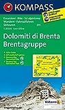 Dolomiti di Brenta - Brentagruppe: Wanderkarte mit Aktiv Guide, Radrouten und alpinen Skirouten. GPS-genau. Dt. /Ital. 1:25000 (KOMPASS-Wanderkarten, Band 73) -