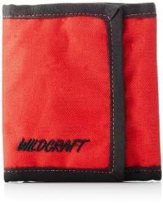 Wildcraft Men's Chrome Tri-fold Red Wallet (8903338012566)