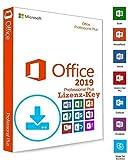 Microsoft Office 2019 Professional Plus Sie erhalten bei uns einen originale Microsoft Office 2019 Professional Plus Lizenz Key. Mit der herunterladbaren Anleitung wird die Installation für Sie wie ein Kinderspiel. Diese Edition ist KEINE 365 Tage-Ve...