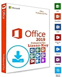 Microsoft Office 2019 Professional Plus DOWNLOAD + LIZENZ KEY - E-Mail Versand - 32 / 64 Bit - 1 Aktivierung / 1 PC + Anleitung von U-S-B Unleashed-Shop-Bolt