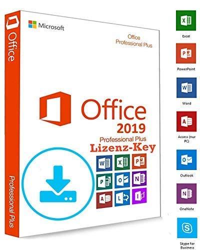 Microsoft® Office 2019 Professional Plus DOWNLOAD + LIZENZ KEY - E-Mail Versand - 32 / 64 Bit - 1 Aktivierung / 1 PC + Anleitung von U-S-B Unleashed-Shop-Bolt® (Office-programm Microsoft)