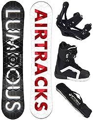 Airtracks Snowboard Set - Tabla One Line Wide (hombre) 156 - Fijaciones Savage - Botas Star 40 - Sb Bolsa/ Nuevo 7vyxDraP2