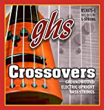 Ghs nS 3075-5 crossovers modèle basse 5 cordes noir)