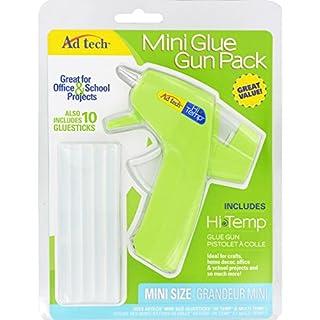 AD TECH Hohe Temp Glue Gun Combo Pack, grün, Mini