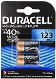 Duracell DL123A Ultra Lithium 123 Batterie (2-er Blister) schwarz/Kupfer