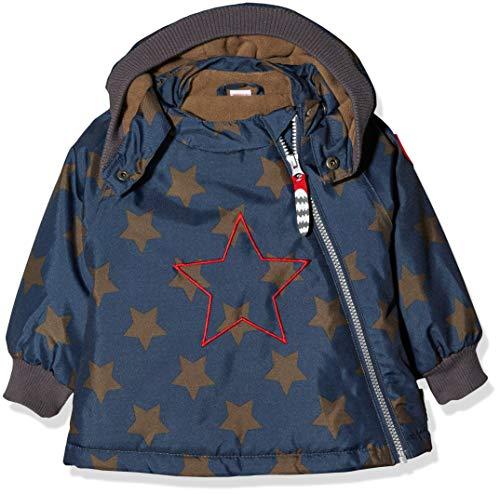 Racoon Baby-Jungen Alban Star Winterjacke (Wassersäule 9.000) Jacke, Mehrfarbig (Insignia Blue Ins), 92