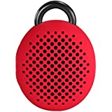 Divoom Bluetune Bean Portable Wireless Bluetooth Speakers with Selfie Remote Shutter (Red)