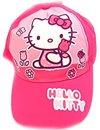Casquette Enfant 'Hello Kitty' rose fuschia