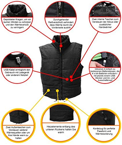 Warmawear beheizbare Weste - 8