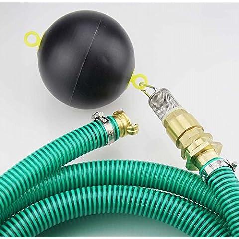32mm Lw; 2–50m tubo flessibile di aspirazione Set Lw 32mm con filtro d' aspirazione schwimmendem Valvola di ritegno con innesto