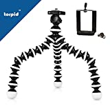 #7: Gorilla Tripod 10inch- flexible, lightweight and multi-use travel tripod for dslr, mobile phone, go pro, point & shoot cameras and action cameras with a quick release Universal mobile or phone mount holder--by torpid™