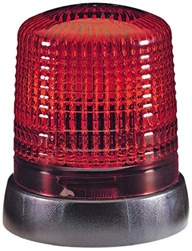 HELLA 2RL 008 064-001 Rundumkennleuchte KL 7000, 230V, rot für Festanbau