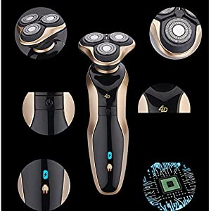 Shaver 4D Floating Men's Electric Razor Beard Shaver Rechargeable Washable Razor Cordless Savers for men speed-yy from speed-yy