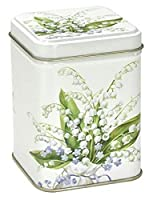 Boîte thé Muguet 7,1x 7,1x 9,3cm Fleur Fleur de printemps