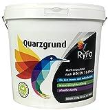 RyFo Colors Quarzgrund 25kg - weiß vorpigmentierter Putzgrund, gebrauchsfertig, Haftgrund, Grundierung für innen und außen, lösemittelfrei, zertifizier