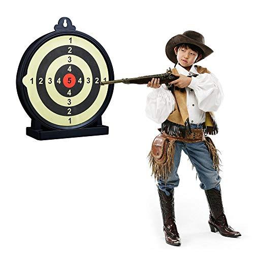 FOONEE Gun Dart Board Game BB Shooting Targets Selbstklebende Dart Board - Indoor & Outdoor Shooting Training Ziele für BB Gun, Water Bomb, Paintball
