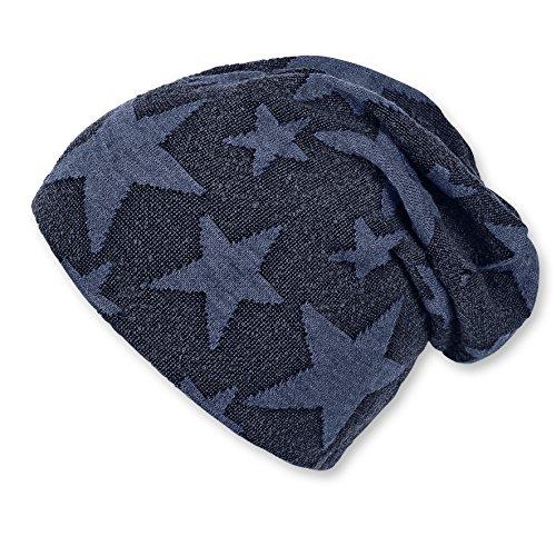 Sterntaler Slouch-Beanie, Sombrero para Bebés, Azul (Marine 300), 49 Sterntaler